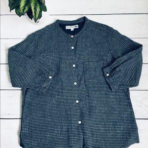 Ines de la Fressange Uniqlo linen shirt s